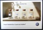 Carte Postale Automobile Publicitaire VW Coupé-Cabriolet EOS - Passenger Cars