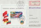 DDR R-Brief EF Minr.Bl.58 Stassfurt 4.5.84 - DDR