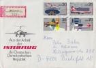 DDR R-Brief Mif Minr.2616-2519 Viererblock Eisenach - DDR