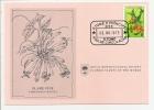Carte 1er Jour - Sao Tome Et Principe  - Fleur - Flame Vine - FDC