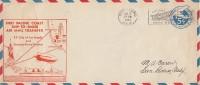 USA Ganzsache First Pacific Coast Ship-To-Shore Air Mail Transfer San Pedro 12.6.31 Ansehen !!!!!!!!! - Luftpost