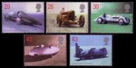 UK British Land Speed Record Holders 5v SG2059/63 - Cars