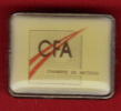 21553-pin's CFA.chambre Des Metiers. - Administrations
