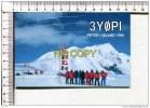 PETER I  ANTARTICA EXPEDITION   - 1994  -    3 YOPI     -  KENWOOD   -  Carte Double  - - TAAF : Terres Australes Antarctiques Françaises