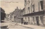 CPA 89 AVALLON Rue De L'Hôpital Commerce Café Vins Restaurant Maison BERTON 1908 - Avallon