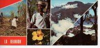 Ref EX : Cpsm Grand Format Panoramique Ile De La Réunion Multivue - Autres