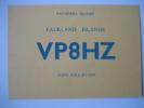 CARTE QSL CARD RADIO AMATEUR 1964 - SAUNDERS ISLAND - FALKLAND ISLANDS - VP8HZ - TONY POLE-EVANS - Radio Amateur