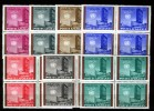 Afghanistan 1961, United Nations - Architecture - Building **, MNH, Blocks Of 4 - Afghanistan