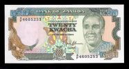 Zambia 20 Kwacha Pick# 32 UNC - Sambia