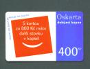 CZECH REPUBLIC  -  Remote Phonecard As Scan - Tschechische Rep.