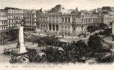 Algérie-ORAN-L´Hôtel De Ville Et La Place D´Armes (Editions : LL N°85)  *PRIX FIXE - Oran