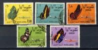 Somalia 1961, Butterflies, Schmetterlinge, Vlinders, Papillons (o), Used - Somalië (1960-...)