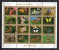 Umm Al-Qiwain 1972 _ Mi 1514/29 - Butterflies , Small Format - Used (o) - Umm Al-Qiwain