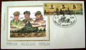1994 BELGIUM FDC 50 YEARS OF LIBERATION MONTGOMERY TANK - Militaria
