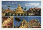 CPSM - THAILANDE - CHIANG MAI - Mutivues - Coul - Ann 80 - - Thailand