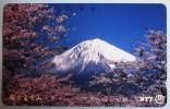 Phone Card Japan NTT Vulkan Berg Landschaft Telefonkarte . - Volcans