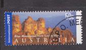 2001. AUSTRALIAN DECIMAL. International Stamps. 50c.  The Three Sisters. (International Stamp). FU. - 2000-09 Elizabeth II