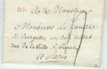 Dreux Lac Pour Paris - Postmark Collection (Covers)