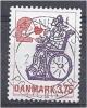 DENMARK 1992 Danish Cartoon Characters.- 3k75 Love Letter FU - Danemark