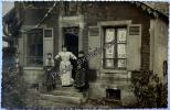 CPA Carte Photo Femme Métier Couturière Mode 1910 SORGUES Vaucluse 84 PACA - Sorgues