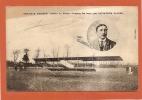 """AVIATION - BIPLAN H.FARMAN - MOTEUR LE RHONE """"LOOPING THE LOOP"""" PAR L'AVIATEUR POIREE - état Voir Descriptif - Airmen, Fliers"""