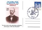 E. T. KOCHER, SWITZERLAND, NOBEL PRIZE IN MEDICINE, 2009, SPECIAL CARD, OBLITERATION CONCORDANTE, ROMANIA - Nobel Prize Laureates