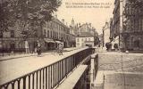 CHALON-sur-SAONE Quai Michelet Et Rue Porte De Lyon - Chalon Sur Saone