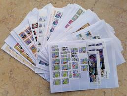 416 Blocs From Cuba Nicaragua Benin Guinee Laos & Combodia All MNH** Mixed - Timbres
