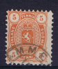 Finland Michel Nr 13 A Y   1875 Perfo 11 Normal To Thick Paper