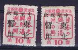 China 1945 Local Issues, MH/neuf* - China