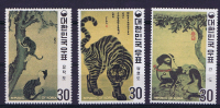 South Korea: 1970, Michel  739-741A, MNH / Neuf** - Korea (Zuid)