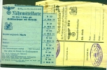D. Reich 1942. BESSERE Lebensmittelkarten Horb. MK - Lettere