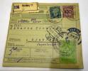 Deutsches Reich - Paket - Karte NURNBERG  LUBJANA   YU 1926     / Siehe Fotos - Germany