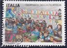 Filatelia Nella Scuola Giornata Della Filatela - 2001-10: Oblitérés