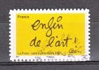 """FRANCE / 2011 / Y&T N° AA 615 : """"Ben"""" (Enfin De L´art...) - Choisi - Cachet Rond - France"""