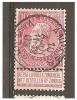 Mj-2425  Ocb 58    ANVERS VALEURS - 1893-1900 Thin Beard