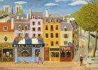 CPA 73 CPM Non Circulée Illustration De Michèle SAND Bleu Dans L'île Café Des 2 Ponts Boulangerie Pont Marie - Illustrateurs & Photographes