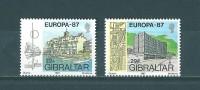 Gibraltar: 530/ 531 ** - 1987