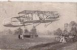 L'AEROPLANE BLERIOT CPA TRES ANIMEE NO 3437 DE 1912 - Avions