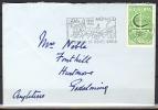 B.12.AP.457.  POSTSTUK VAN MONACO NAAR ENGELAND.  1966.  EUROPA-CEPT. - 1966