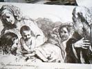 Adorazione Dei Magi Incisione Del Bartolozzi Da Un Disegno GUERCINO VB1960  DS14293 - Altri