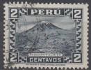PEROU  N°279__OBL VOIR SCAN - Peru