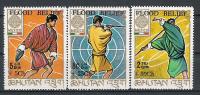 Bouthan N° YVERT 209/11 NEUF** - Bhutan