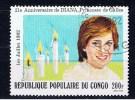 RPC+ Kongo 1982 Mi 865 Diana - Congo - Brazzaville