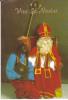 Vive Saint-Nicolas. Saint Nicolas Et Père Fouettard Tenant LE Livre. - Sin Clasificación