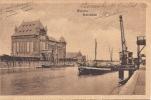 Cpa Worms, Rheinhafen, Port Sur Le Rhin - Worms