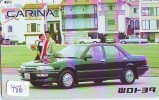 TOYOTA * Télécarte JAPON VOITURE (486) Phonecard JAPAN *  Telefonkarte * AUTO * CAR * CARINA - Auto's
