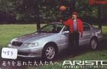 TOYOTA * Télécarte JAPON VOITURE (487) Phonecard JAPAN *  Telefonkarte * AUTO * CAR * ARISTO - Auto's