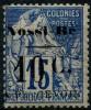 Nossi-bé (1891) Taxe N 8 * (charniere) (Signé Calves)