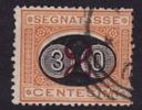 Segetassa  30 Su 2 C.  Sass 19  Usato - 1878-00 Humbert I.
